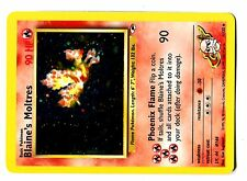 POKEMON GYM HEROES HOLO N°   1/132 BLAINE's MOLTRES