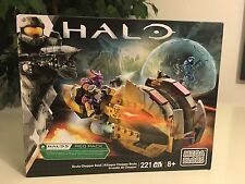 Mega Bloks Halo Brute Chopper Raid 221 Pcs Building Blocks