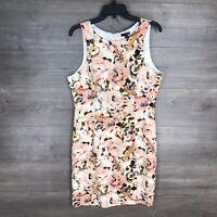 Ladakh Women's Size XL Sleeveless Sheath Floral Printed Dress