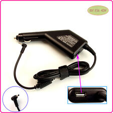 Car DC Power Adapter Charger + USB Port for ASUS Eee PC X101 X101H X101CH