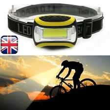 Mini Waterproof Head Light Torch Headlamp Headlight Camping Bike Hiking and more