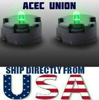 2 X High Quality MG 1/100 QANT Raiser Gundam GREEN LED Lights - U.S.A. SELLER