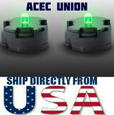 2 X High Quality MG 1/100 QANT Raiser Gundam GREEN LED Lights - U.S.A. SELLER