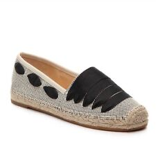 ENZO ANGIOLINI FENZ Natural/Black Flat Shoes SIZE-9.5M NEW $89