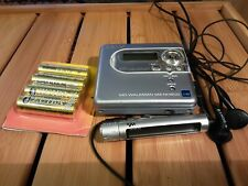 Sony MINIDISC  MZ-NH600 LIKE NEW TOP CONDITION AND WORKING ORDER .TESTED