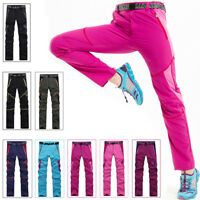 Men Women Outdoor Hiking Camping Quick Drying Pants Trousers Breathable Trousers