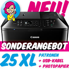 Canon PIXMA MX725 MX 725 im XXL-Set inkl. 25 XL-PATR0NEN +U$B +FOTOPAP!ER NEU!