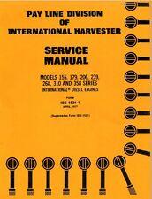 TD7 TD8 TD-7E C Loader Tractor Service Repair Shop Manual IH Crawler 310 358 CD