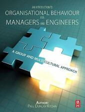 AN INTRODUCTION TO ORGANISATIONAL BEHAVIOUR FOR MANAGERS AND ENGINEERS NEW PAPER