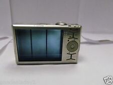 CANON PowerShot Digital ELPH SD790 IS Silver 10.0 MP Parts or Repair. Broken LCD