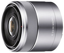 Open-Box: Sony - 30mm f/3.5 Macro Lens for Most Sony NEX Compact System Cam