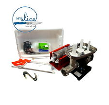 Home Butchery Equipment Starter Kit - Reber Mincer, 3kg Filler, Tub, Hooks, Saw