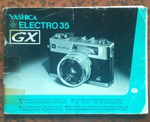 Yashica Electro 35 GX  - Anleitung