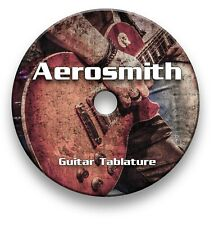 Aerosmith Rock Guitar Tabs Tablature Lesson Software CD - Guitar Pro