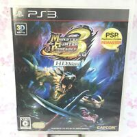 USED PS3 PlayStation 3 Monster Hunter Portable 3rd HD Ver 39451 JAPAN IMPORT