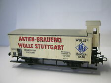 Märklin HO Bierwagen Aktien Brauerei Wulle Stuttgart (RG/RD/302-10S3/5/3)