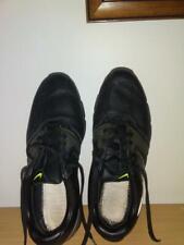 Nike Lunarlon  Golf Shoes Black/Silver 551456-001 Men's Size 9.5 Worn once