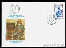 1995 Aerospace Medical Institute Gen.Anastasiu,Supersonic pilot,Romania,5117,FDC