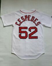 Bosto Red Sox Yoenis Cespedes Majestic Jersey  Made in USA Size S