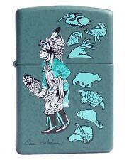 Zippo Lighter ● Indian Art Carson Waterman ● 852797 Neu New OVP ● A887