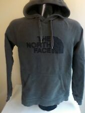 THE North Face  Hoodie Pullover Sweatshirt Half Dome Gray/Black Cotton/Poly SM