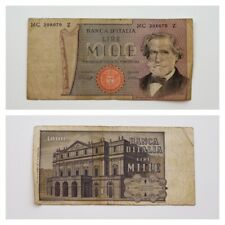 Billet Italie Italy 1000 lire MC 208070 Z