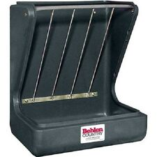 """NEW! Poly Wall Stall Feeder With Galvanized Steel Hay Rack, 18""""D From Wall!!"""