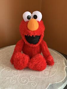 "Sesame Street ELMO Stuffed Animal Plush 14""Kohl's Cares"