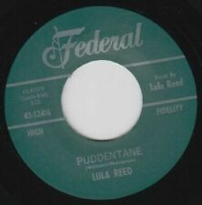 "45Re✦ LULA REED ✦ ""Puddentane / I Got A Notion"" 1961 R&B Monster Club Hit. Hear♫"