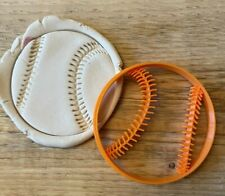 Baseball cookie cutter, sport biscuits icing cupcake topper
