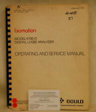 Gould K100-D Logic Analyzer Operating & Service Manual