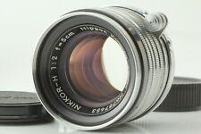 [NEAR MINT / Black Belt] Nikon Nikkor H 5cm 50mm F/2 LTM L39 Lens From JAPAN