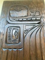 Wood Carving Wall Hanging First Nations Art Eagle West Coast Canada Native Art