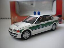 """BMW 3 series ,,POLIZEI"""" 1/43 SCHUCO, MADE IN BULGARIA, BNOS"""