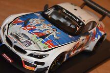 !! BMW Z4 GT3, 1:18 24h Spa 2015 Zanardi Spengler (Minichamps) SEHR SCHÖN !!