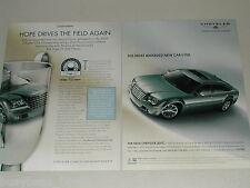 2005 Chrysler 300C 2-page ad Chrysler Golf Championship