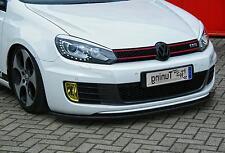 Frontspoiler Cup Schwert aus ABS für VW Golf 6 GTI GTD 1K Bj. 2008-2013