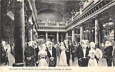 POSTCARD   FRANCE   MONTE  CARLO  CASINO  Les moutons dans l'atrium du Casino