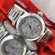 Cartier pasha Watch W/box Beautiful Automatic Unisex 35mm Cartier Pasha  minty