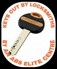 abs avocet security keys cut to code. Abs key cutting
