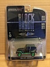 GREENLIGHT GREEN MACHINE BLACK BANDIT 1994 JEEP WRANGLER