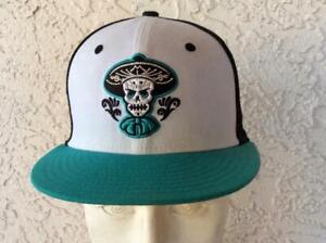Albuquerque Isotopes Minor League Baseball Mariachis Aqua Blue Uniform Hat Cap