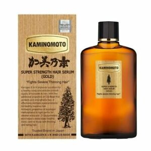 [US seller] Kaminomoto Super Strength Hair Serum Gold [Ship 24 hours] EXP 2025