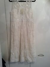 BNWT New Monsoon ladies womens special occasion dress ivory size 16 wedding