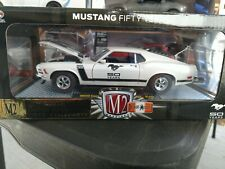 M2 Machines 1970 Ford Mustang BOSS 302 50 years Limited Edition 1:24 scale