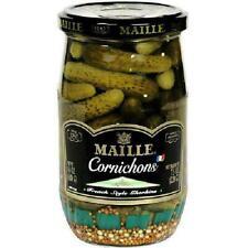 Maille Gherkins Pickles, 14 oz (Pack of 12)
