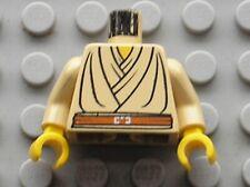 Buste personnage LEGO STAR WARS Qui-Gon Jinn torso 973px58c01 / 7133 7161 7143..