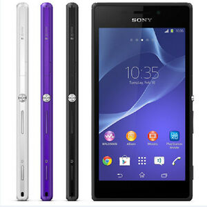 "Sony Xperia M2 S50h D2303 4.8"" 8GB 4G 3G Wifi NFC 5MP Android Original Unlocked"