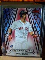 2018 TOPPS STADIUM CLUB BEAM TEAM Red Foil CARD OF RAFAEL DEVERS NO. BT-RD
