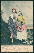 Palermo Costumi Siciliani cartolina QQ0893